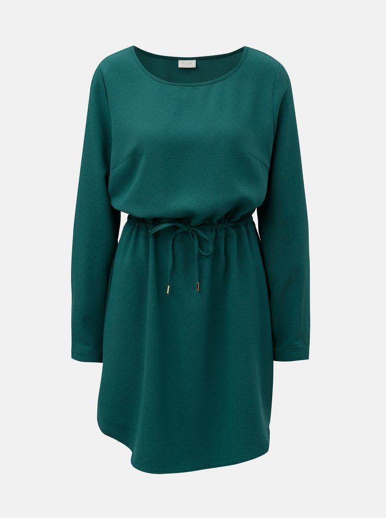 Rochie verde cu maneci lungi VILA Visealo
