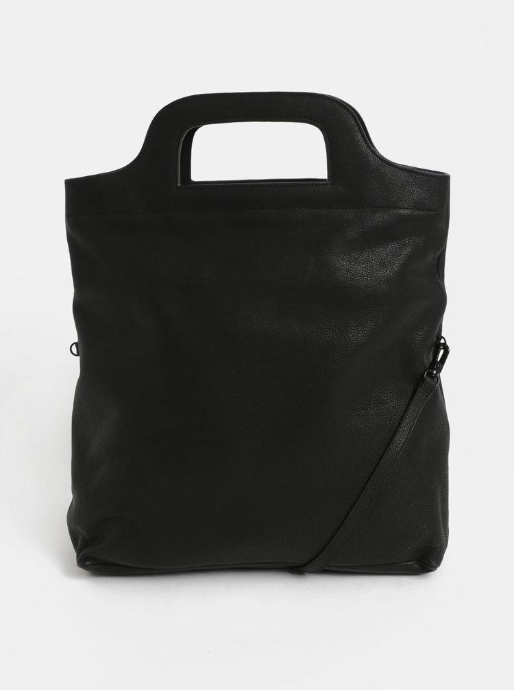 Černá kožená kabelka Vagabond Roskilde