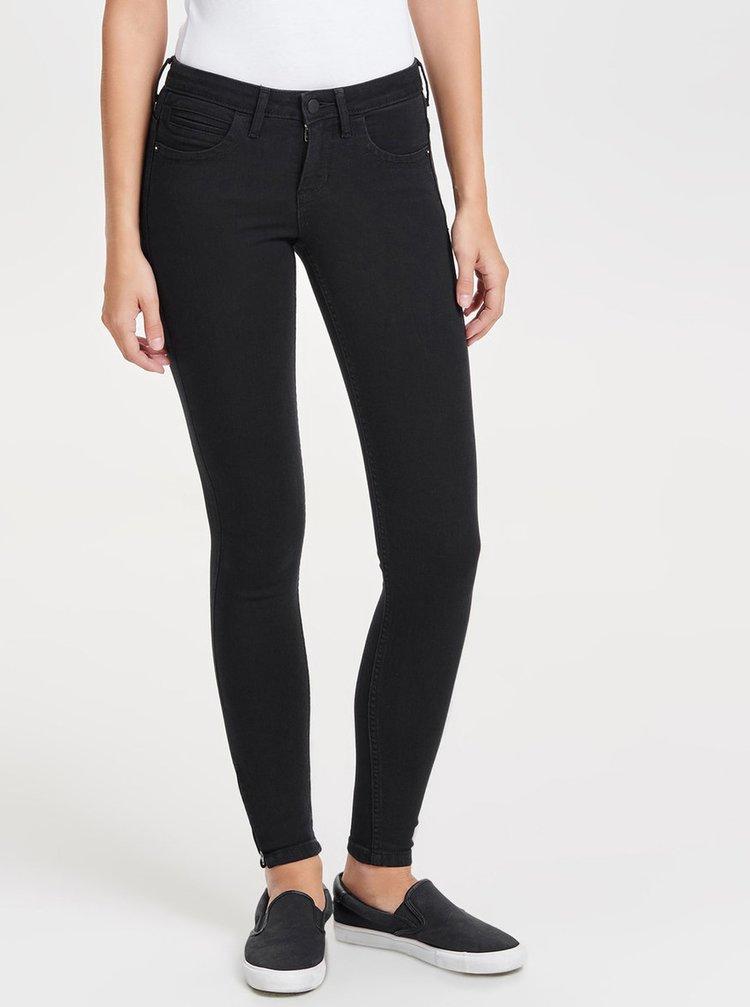 Černé skinny džíny ONLY Kendell