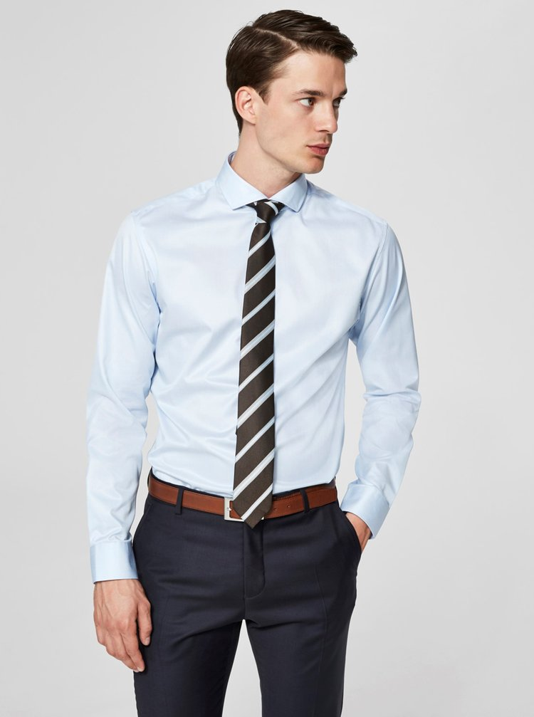 Camasa albastru deschis formala regular fit Selected Homme Regsel