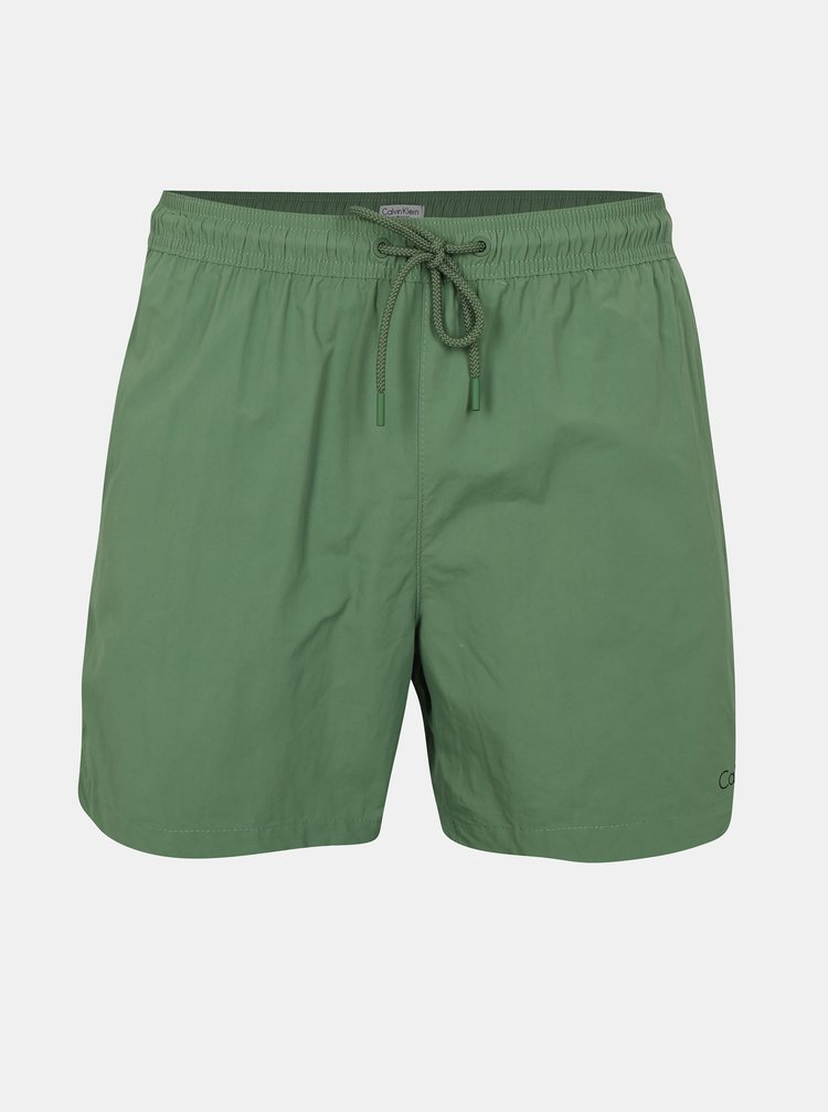 Zelené pánské plavky Calvin Klein Underwear
