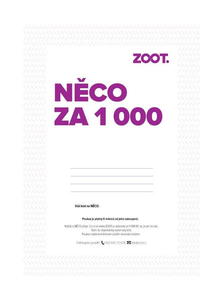 Elektronický poukaz na NĚCO ze ZOOTu v hodnotě 1 000 Kč