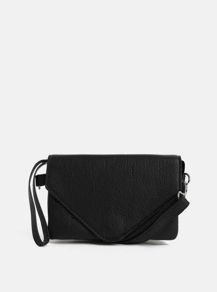 Černá malá crossbody kabelka Pieces Lapis