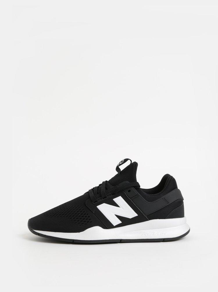 Bielo–čierne pánske tenisky New Balance 247