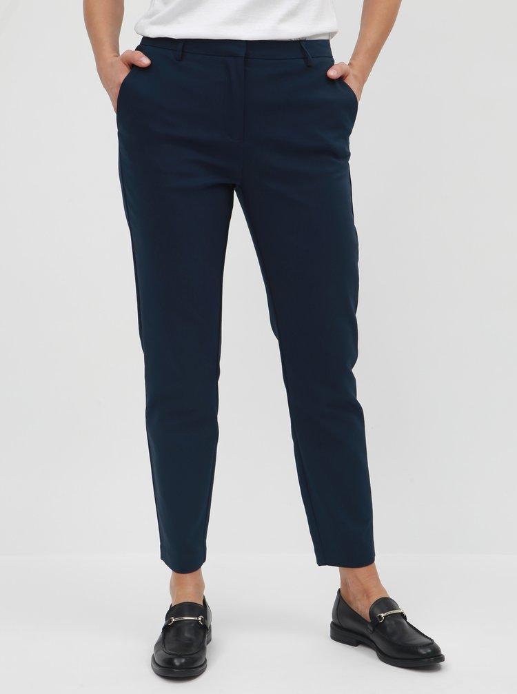 fedd7db24fe4 Tmavomodré kostýmové nohavice VILA Delia · Tmavomodré kostýmové nohavice  VILA Delia