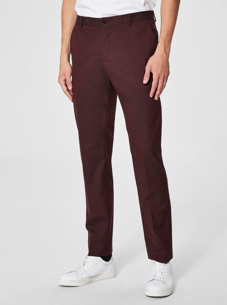Pantaloni visinii formali Selected Homme