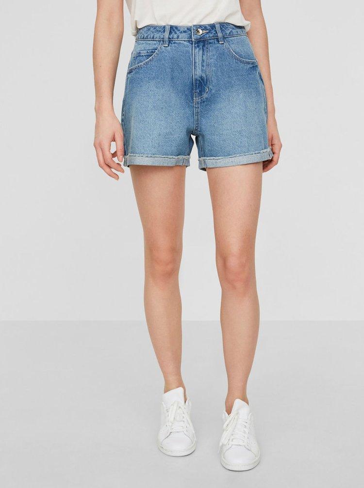 Pantaloni scurti albastru deschis din denim - VERO MODA Nineteen