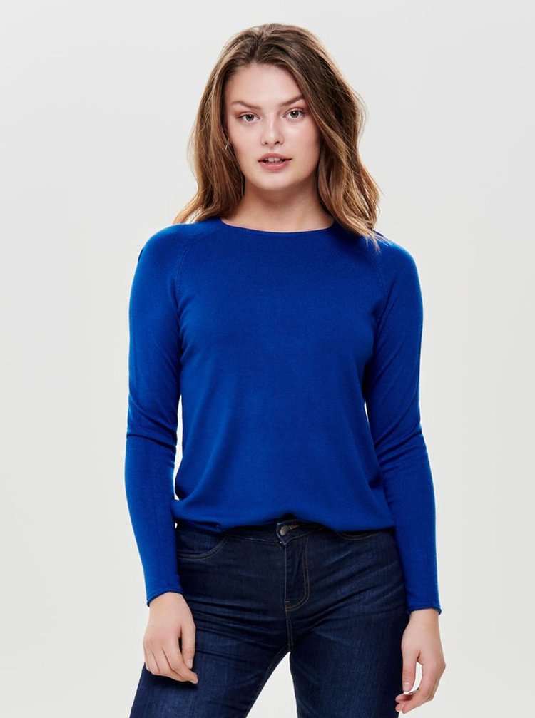 Tmavě modrý lehký svetr ONLY