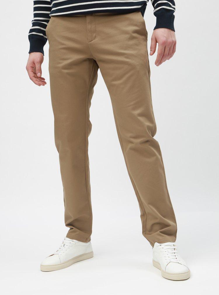 Pantaloni bej slim Selected Homme Carlo