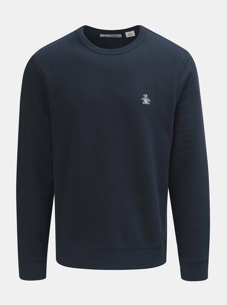 Bluza sport albastru inchis Original Penguin