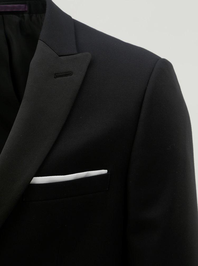 4a0a69eb17f4 ... Čierne oblekové slim fit sako Burton Menswear London