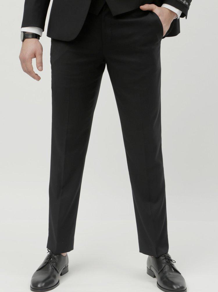 Pantaloni formali negri slim fit Burton Menswear London