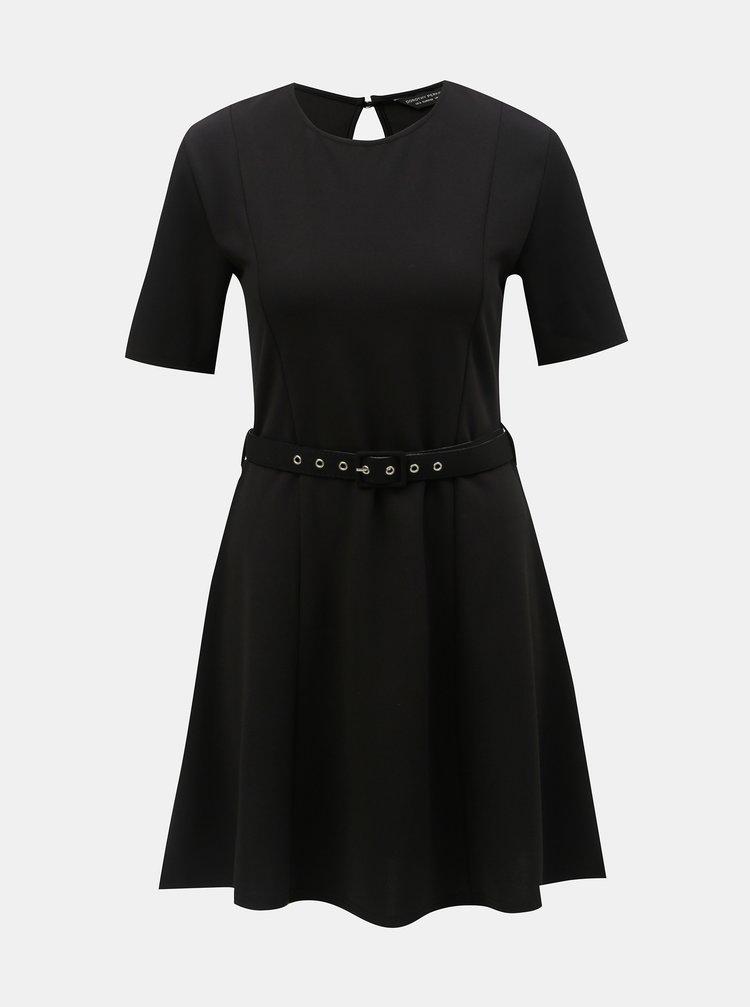 Rochie neagra cu cordon Dorothy Perkins