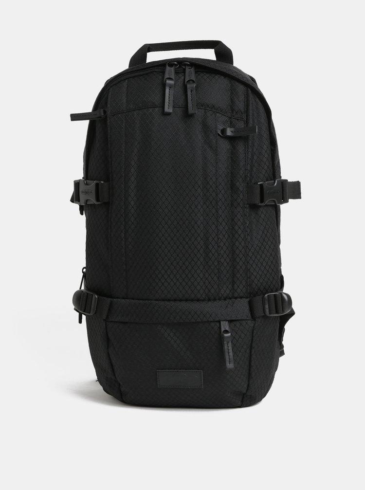 Černý pánský batoh s koženými detaily Eastpak Series 16 l