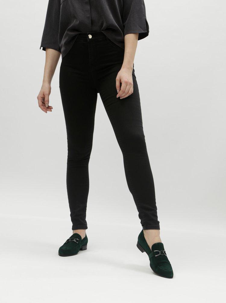 Černé super skinny džíny Dorothy Perkins Frankie