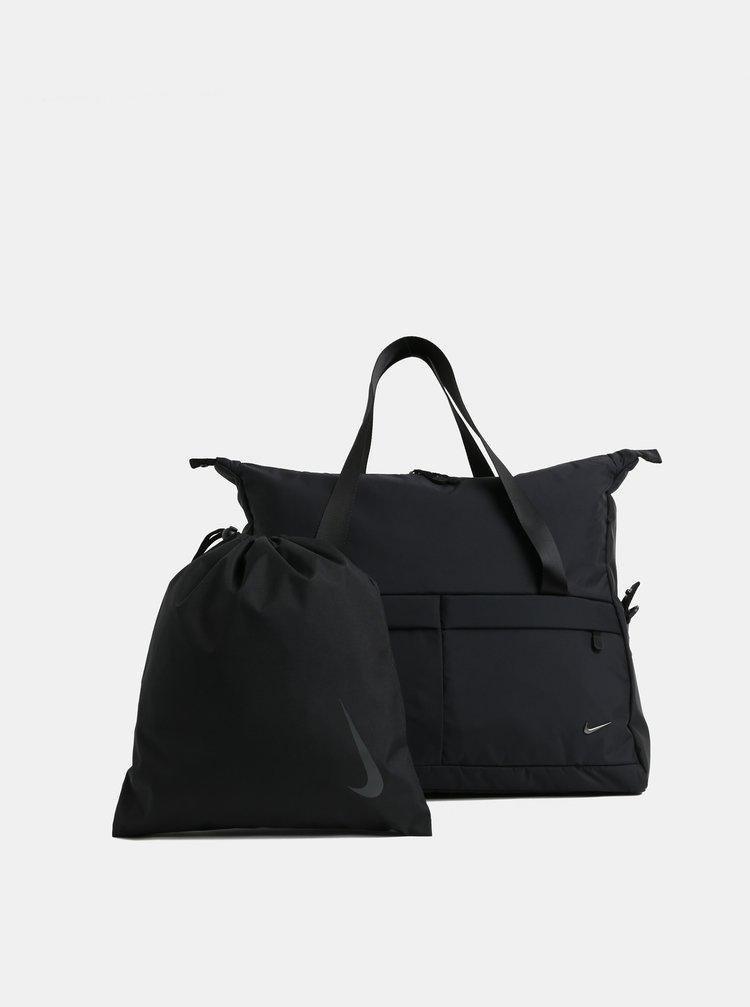 Černá dámská sportovní taška s vakem 2v1 Nike Legend 31 l