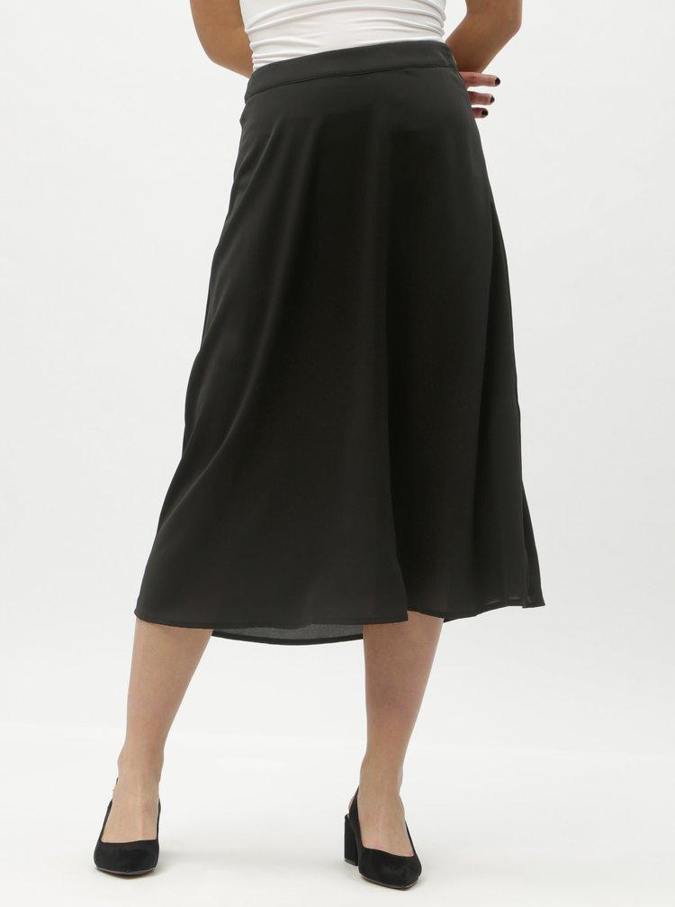 Černá midi sukně VILA Riba