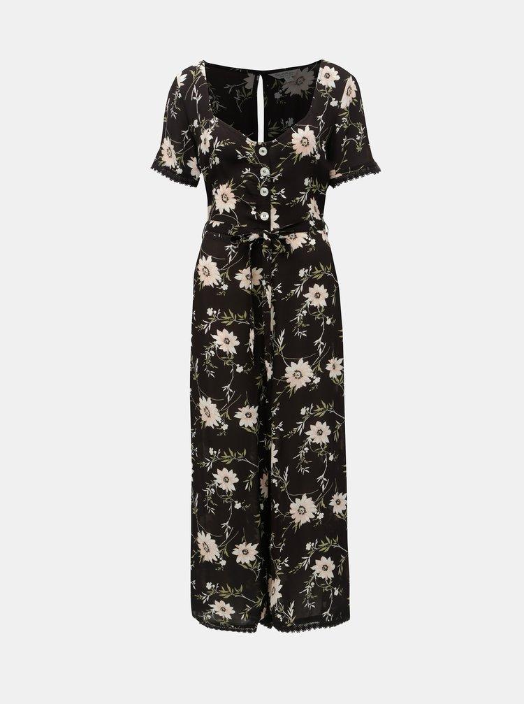 Salopeta neagra florala Miss Selfridge