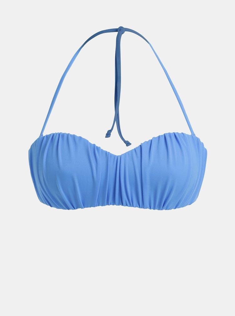 Modrý horní díl plavek Dorothy Perkins