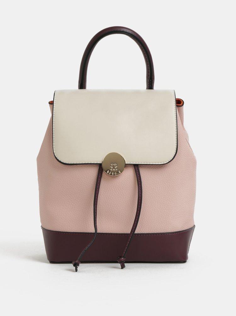 Růžový batoh Bessie London