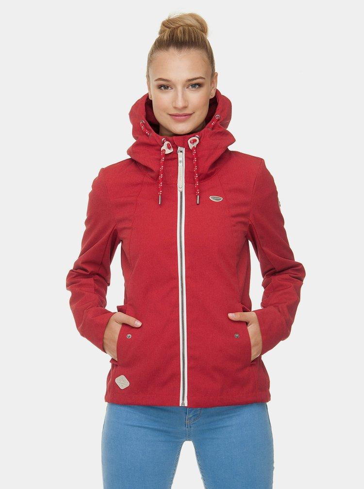Červená dámska bunda Ragwear Monade