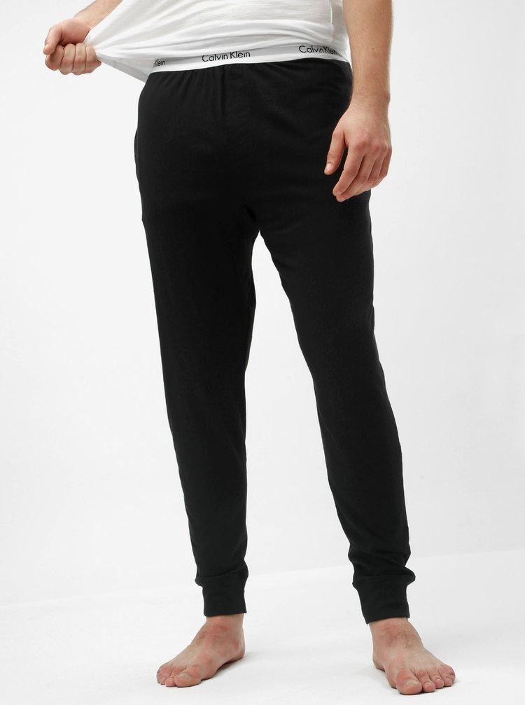 Čierne pánske pyžamové nohavice Calvin Klein Underwear