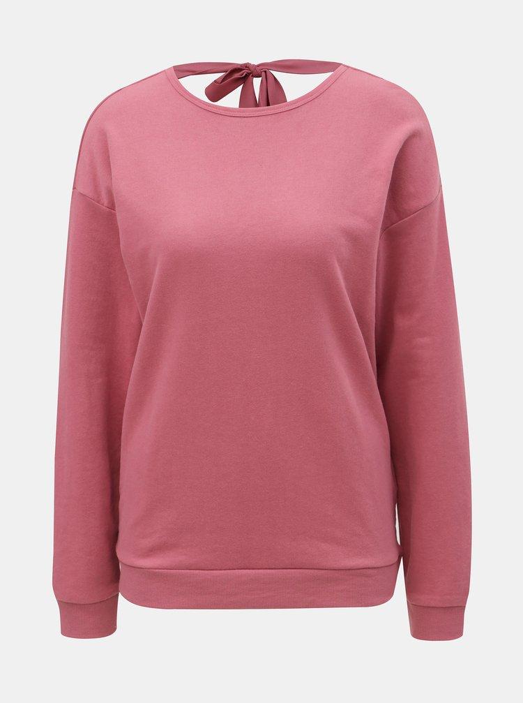 Bluza sport roz cu decupaj la spate ONLY Marguerite