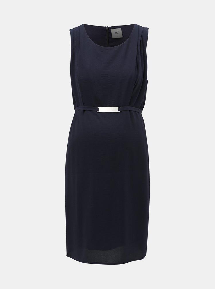 Tmavě modré kojicí šaty Mama.licious Lasy