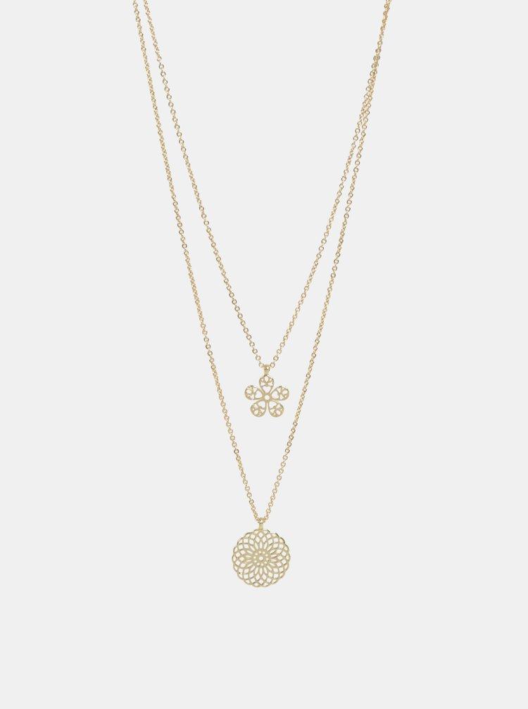 Colier auriu Pieces Serendipity
