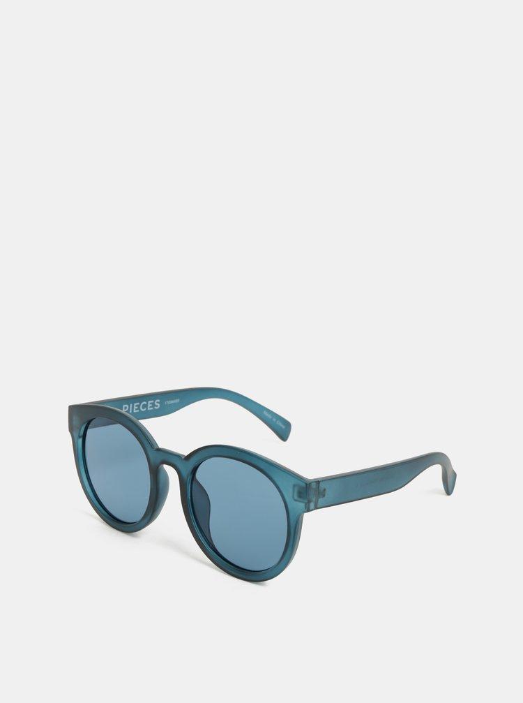 Ochelari de soare albastri Pieces Beate