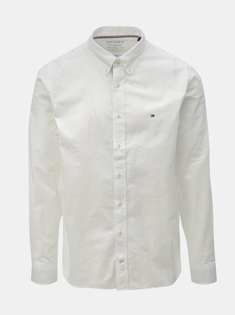 Bílá pánská regular fit košile Tommy Hilfiger