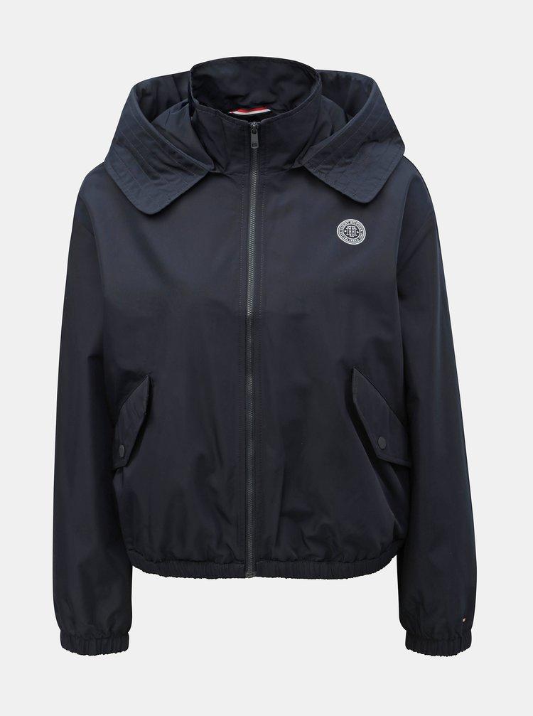 34913e695 Tmavomodrá dámske tenká nepremokavá bunda Tommy Hilfiger Saba | ZOOT.sk