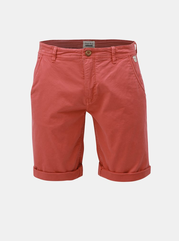 Pantaloni scurti rosii chino Blend
