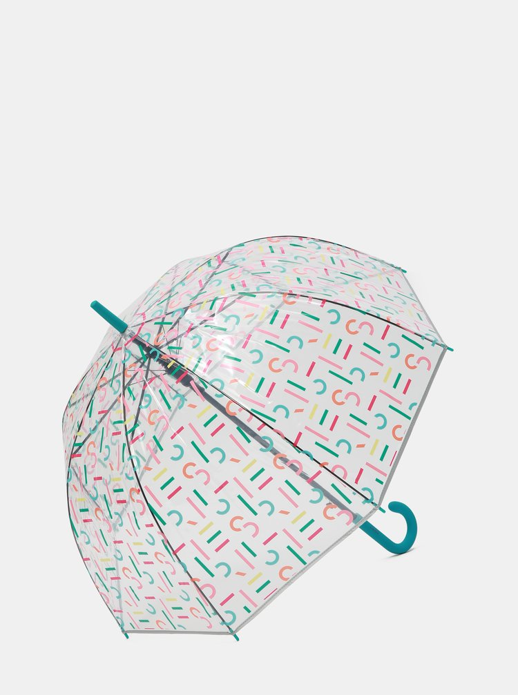 Umbrela automata transparenta cu imprimeu Esprit