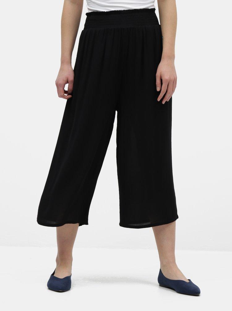 Čierne culottes Dorothy Perkins