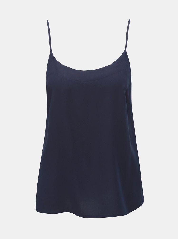 Tmavě modrý top VERO MODA Sipmly
