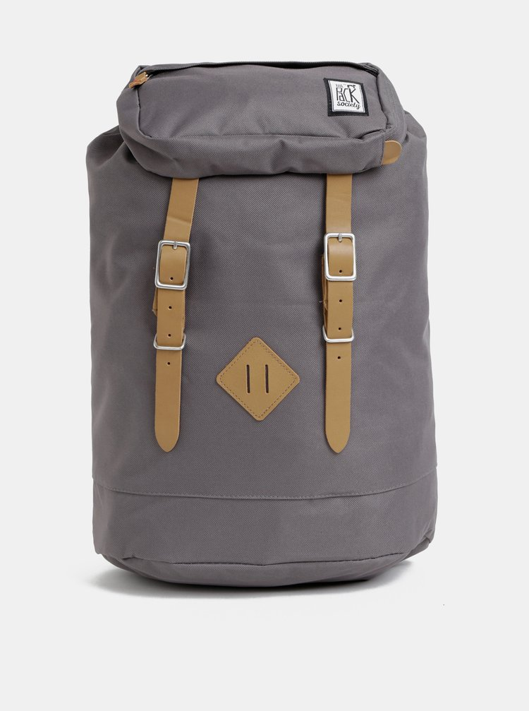 Rucsac gri impermeabil The Pack Society 23 l