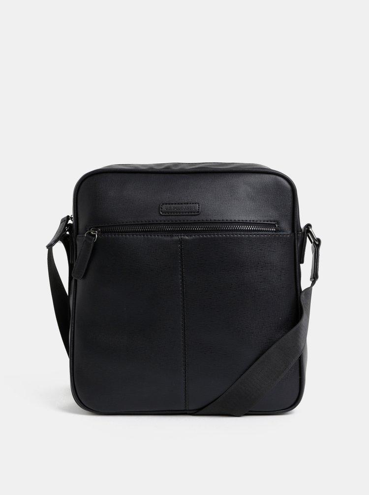 Černá pánská taška U.S. Polo Assn.
