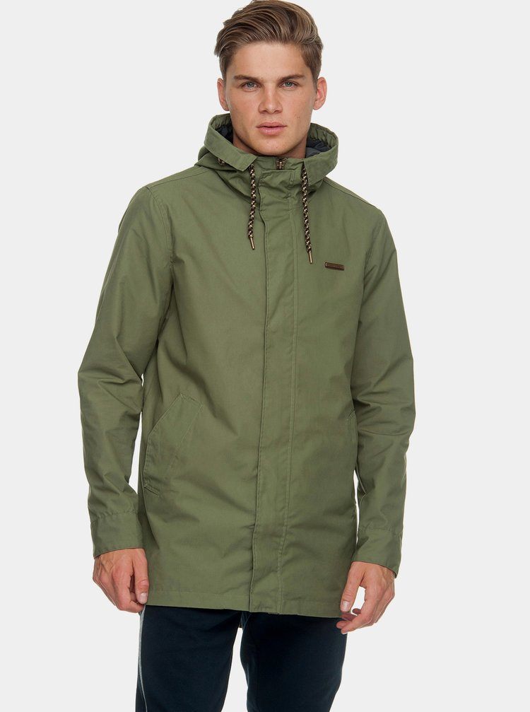 Jacheta parka barbateasca verde lejera Ragwear Mr Smith