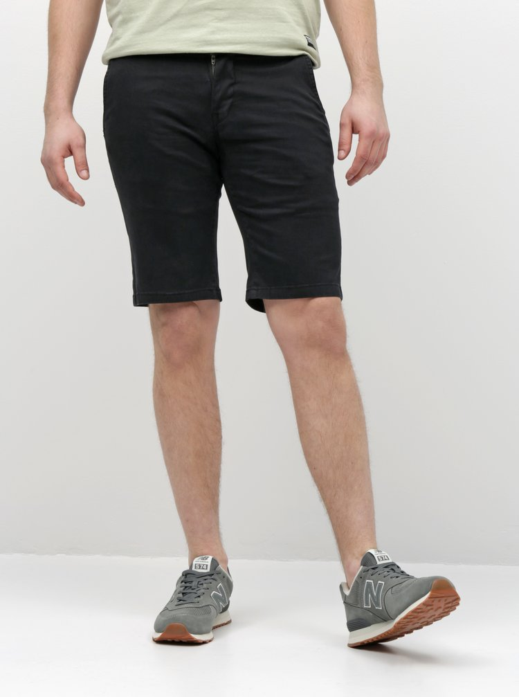 Pantaloni scurti negri chino Shine Original