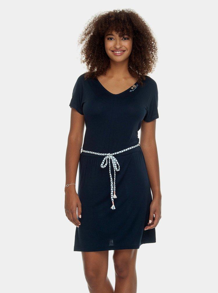 Tmavě modré šaty Ragwear Lasy