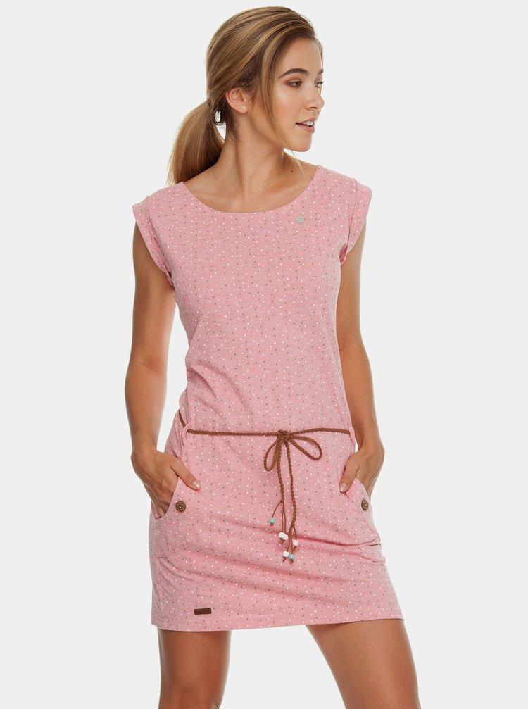 Rochie roz cu model si cordon Ragwear Tag Dots