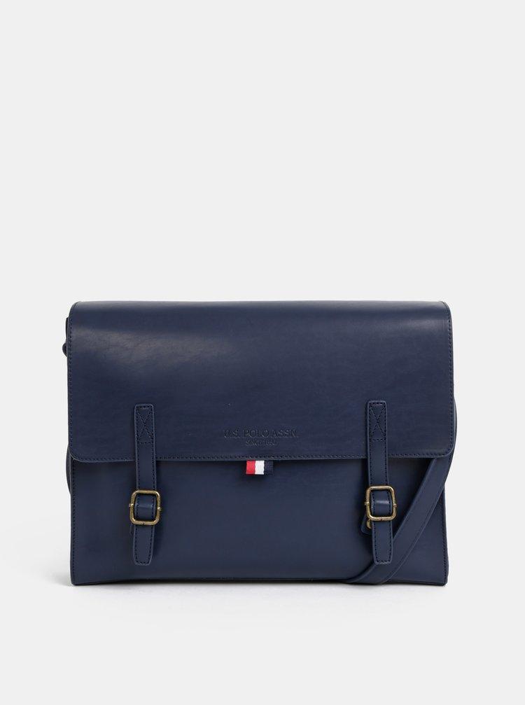 Tmavomodrá pánska taška U.S. Polo Assn.