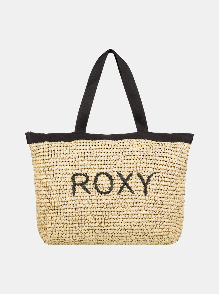 Geanta de plaja bej Roxy Heard That Sound