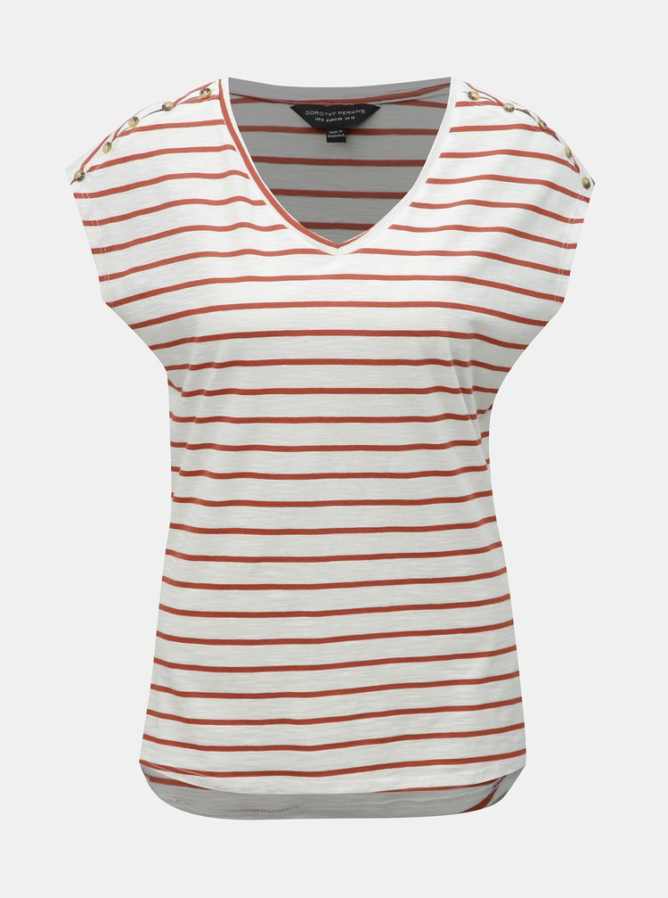 Tricou maro-alb in dungi Dorothy Perkins