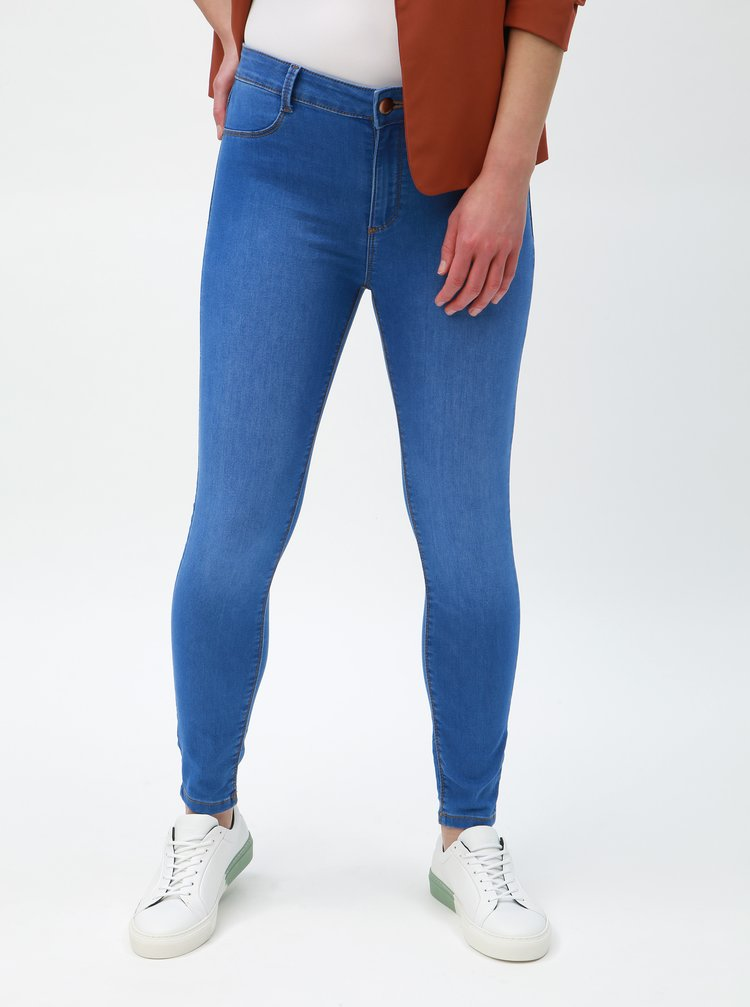 Blugi albastri super skinny Dorothy Perkins Petite Frankie