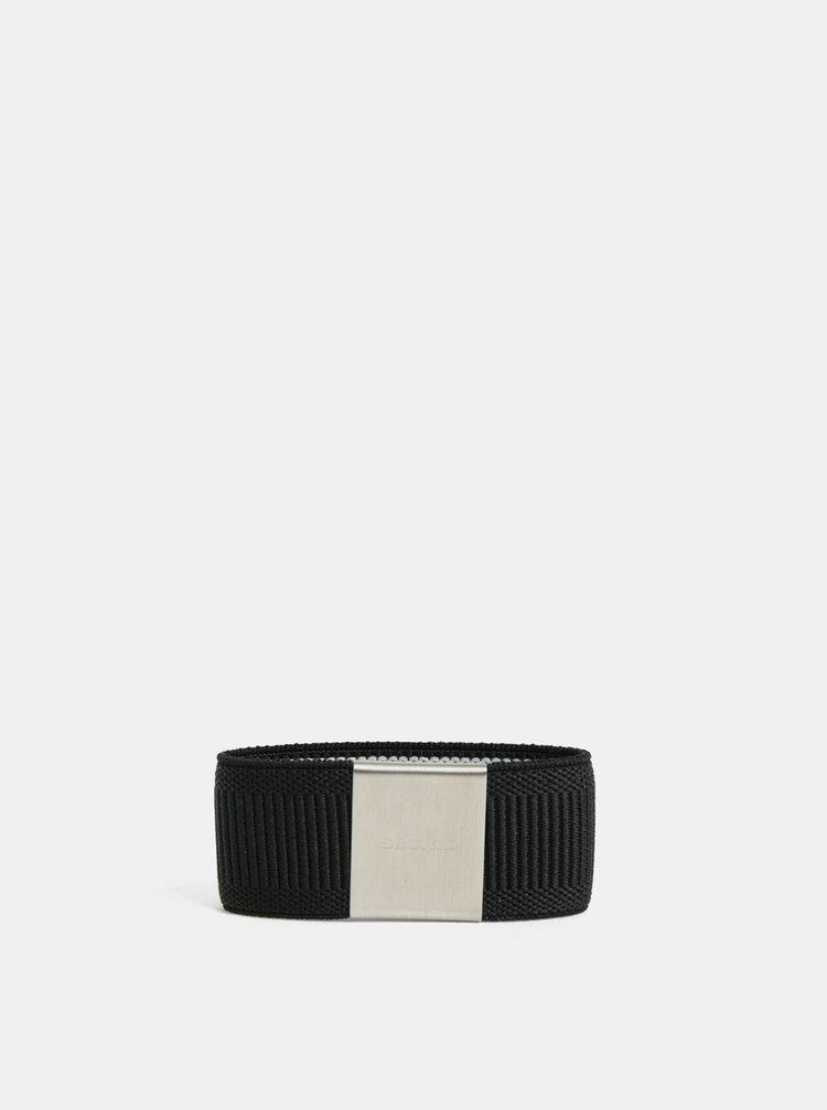 Čierna gumička na hliníkové puzdro Secrid