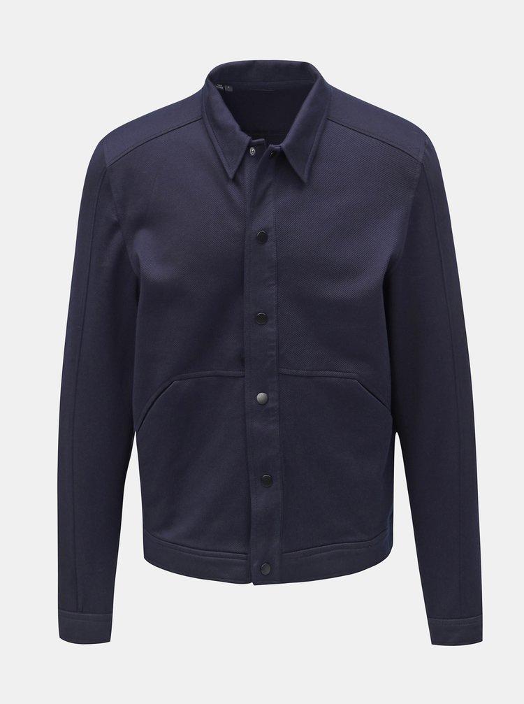 Tmavě modrá lehká bunda Selected Homme Matt