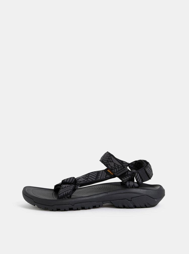 Čierne pánske vzorované sandále Teva