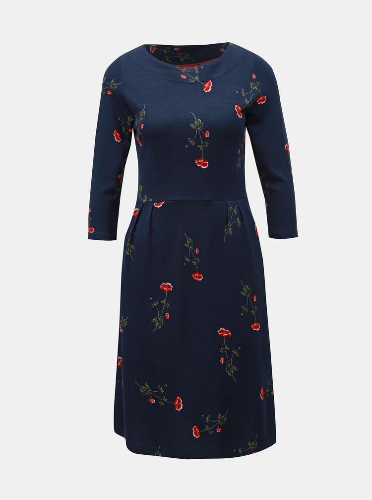 Tmavomodré kvetované šaty Tom Joule Beth